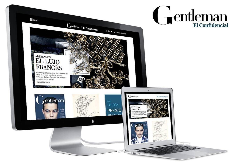 Foto: El diseño multidispositivo del nuevo portal de El Confidencial