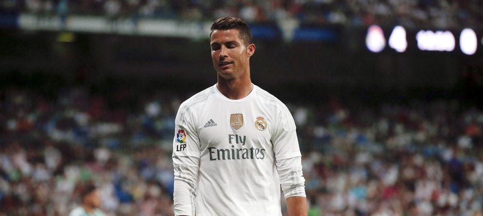 Foto: Cristiano Ronaldo todavía no se ha estrenado como goleador en esta Liga (Reuters)