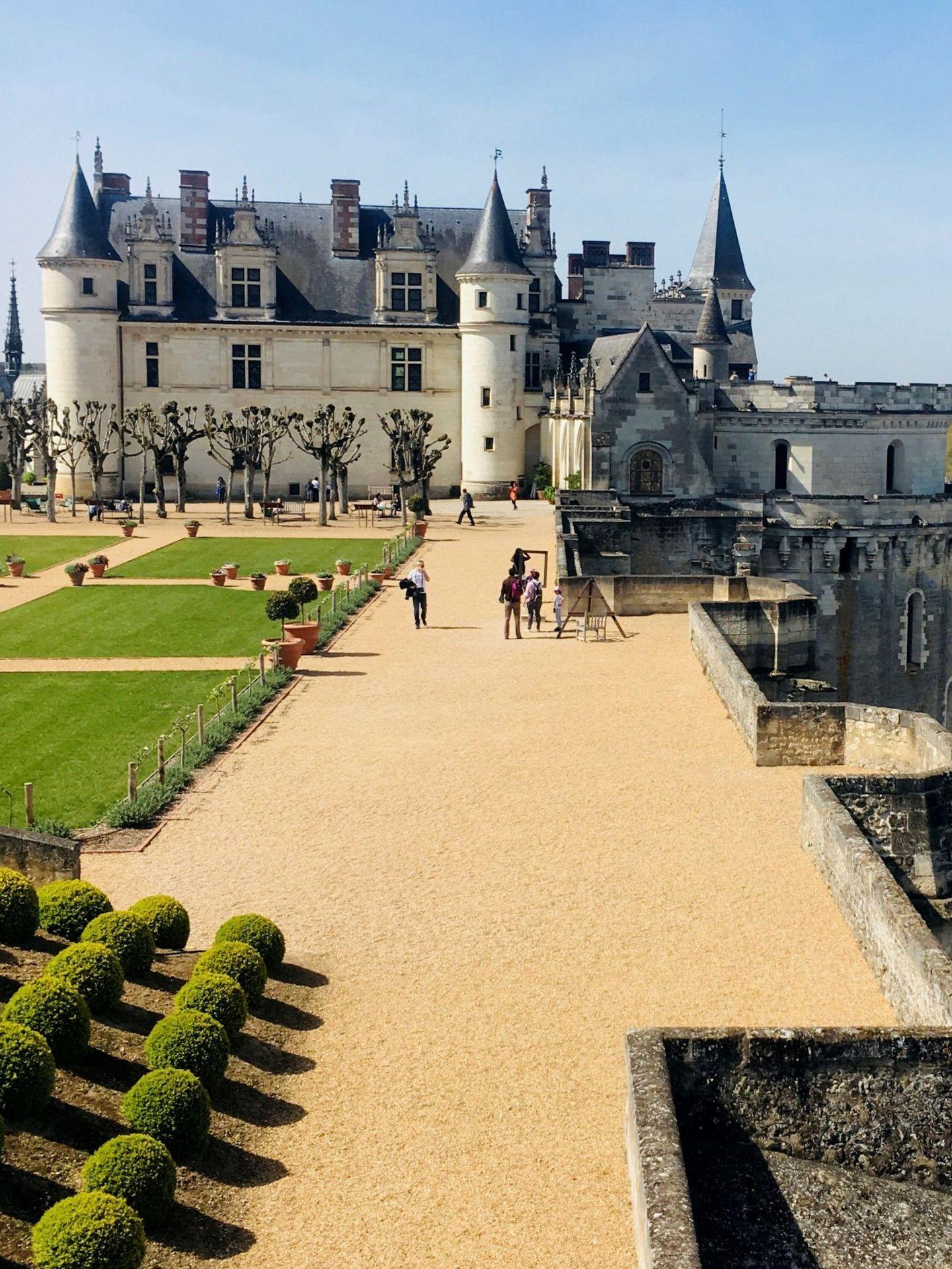 El castillo de Amboise. (EFE)