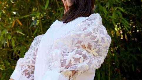 Une camiseta blanca, margaritas y organza... y tienes esta maravilla de Sfera