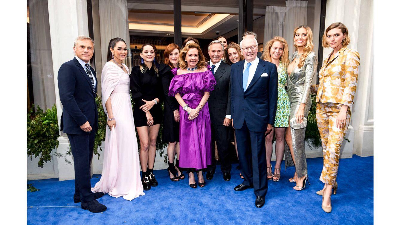 Foto: Caroline y Karl-Friedrich Scheufele, co-presidentes de Chopard, han inaugurado la renovada boutique en Londres.