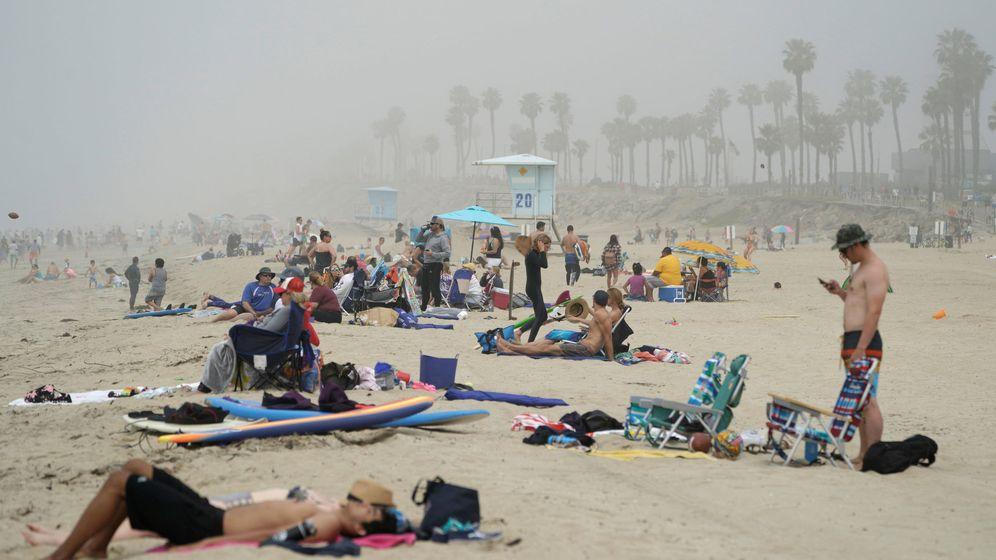 Foto: Huntington City Beach. REUTERS