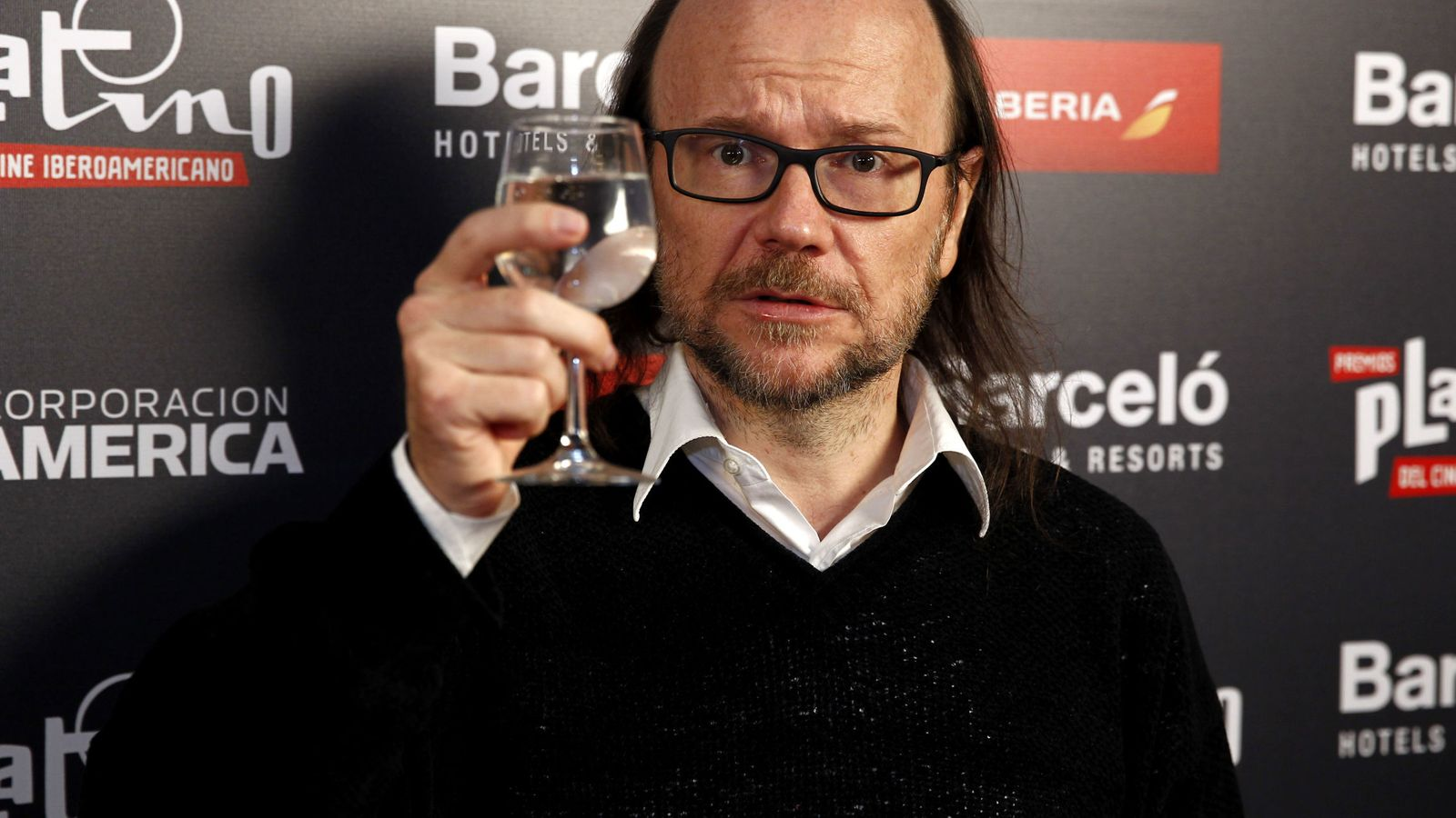 Foto: Santiago Segura presenta la III edición de los Premios Platino (Efe)