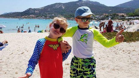 Jacques y Gabriella: día en la playa tras el susto del coronavirus