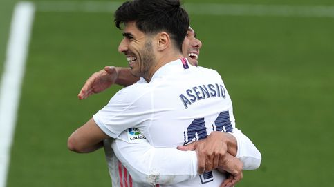 Marco Asensio se pone las pilas en la semana que el Real Madrid negocia con Haaland (2-0)