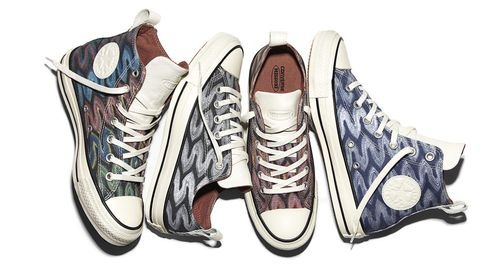Unas zapatillas que mezclan comodidad 'sporty' y un zigzag de Alta Costura