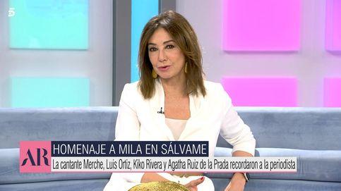 Ana Rosa Quintana, emocionada por lo que hizo 'Sálvame' por Mila Ximénez