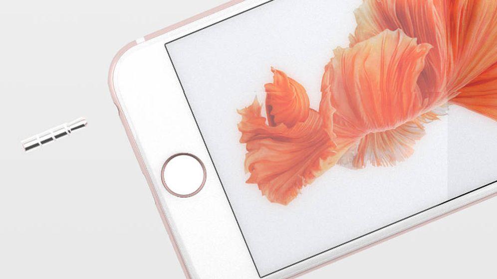 Foto: El Apple Plug oculta esa 'molesto' jack de 3,5mm. (Apple Plug)