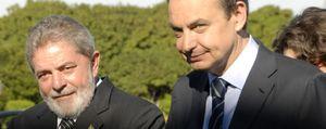 Zapatero recibe el apoyo de Lula contra ETA en la antesala de la Cumbre de Lima