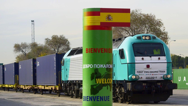 La odisea del 'tren de la seda': a tope desde China y vacío de Madrid... cuando sale