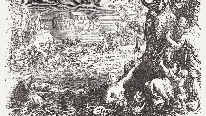 Ilustración de 1864. (iStock)