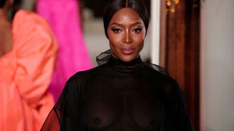 Naomi Campbell vuelve a la pasarela de Valentino 14 años después