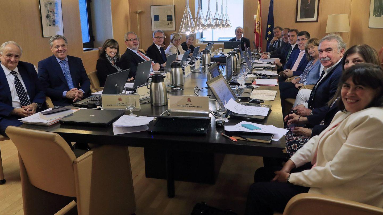 Reunión de la JEC en septiembre. (EFE)