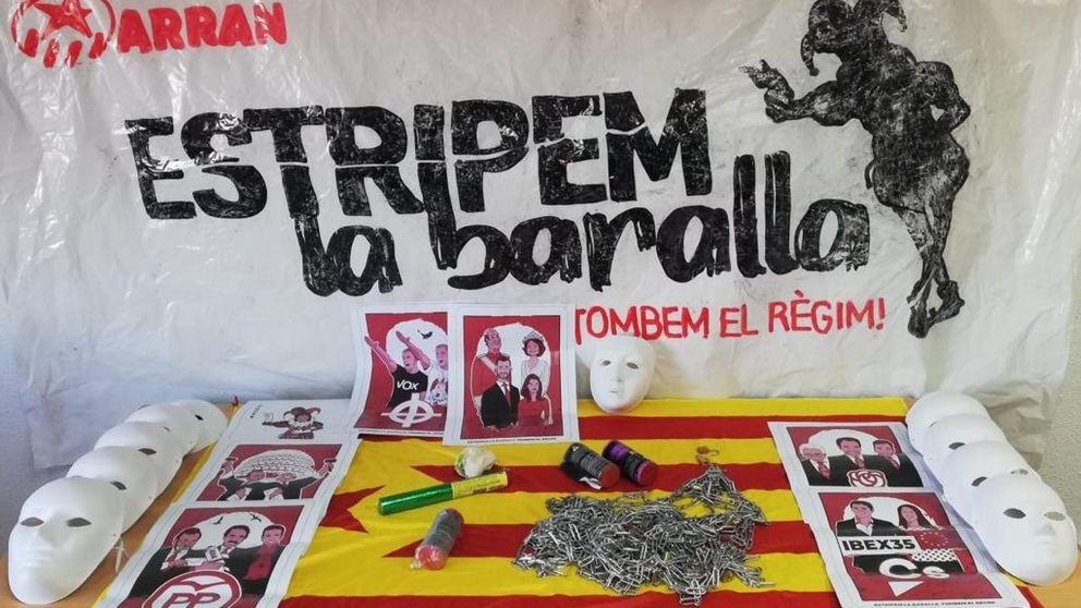 Del camping de los guardias civiles a SCC: los 'colaboracionistas', diana de los radicales