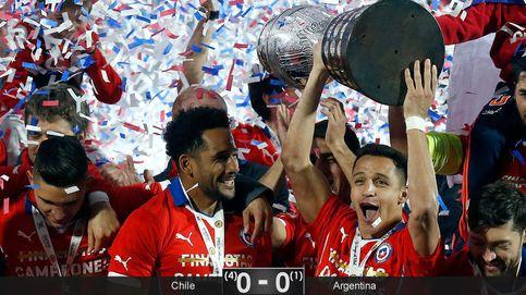 Alexis también le roba a Messi la gloria americana a la que estaba predestinado