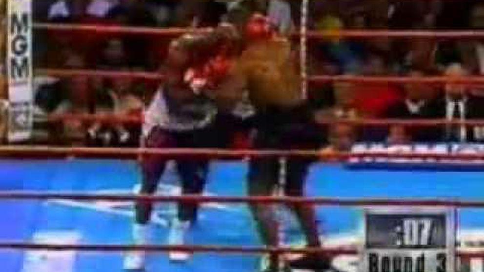El bocado de Mike Tyson a Evander Holyfield