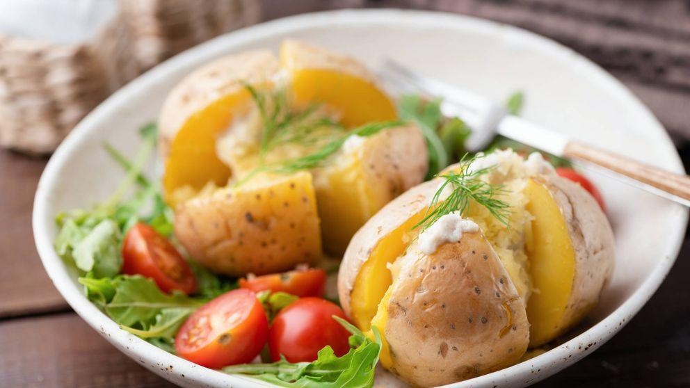 Patatas asadas con interior cremoso, ¡no te vas a resistir!