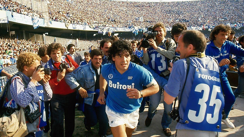 Fotograma del documental de Asfi Kapadia 'Diego Maradona'.