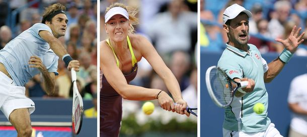 Foto: Federer es el tenista mejor pagado por delante de Sharapova y Djokovic (Efe).