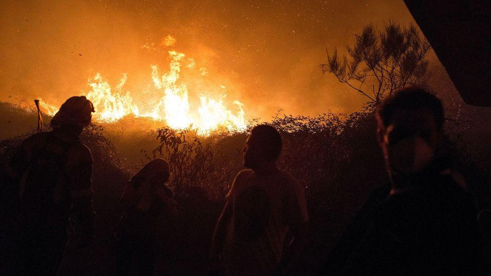 Era el cráter de un volcán: el drama del Coruxo en mitad del fuego