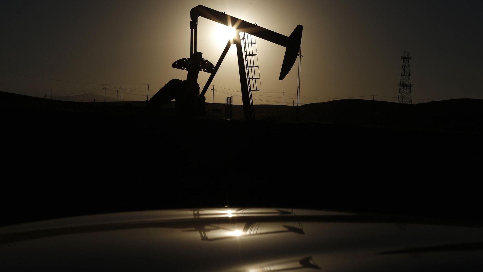 Foto: Planta de extracción de petróleo.