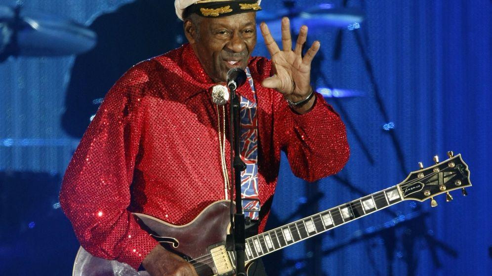 Foto: Chuck Berry, leyenda del Rock and roll. (Reuters)