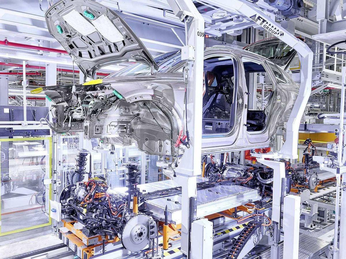 Foto: Ya ha comenzado la producción del Audi Q4 e-tron en la planta alemana de Zwickau.