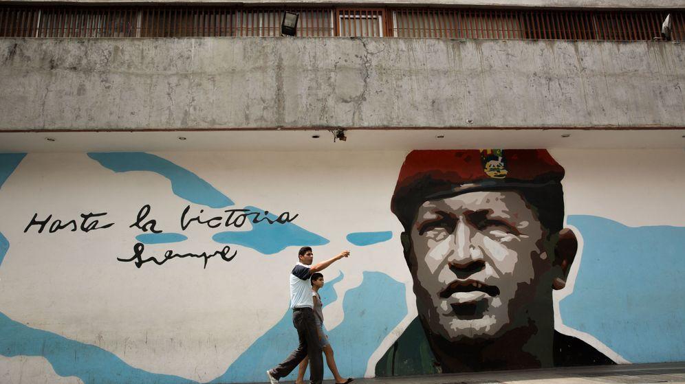 """Foto:  """"Yo ya no soy Chávez, yo soy un pueblo, carajo"""", dijo cuando le quedaba poco de vida (EFE)"""