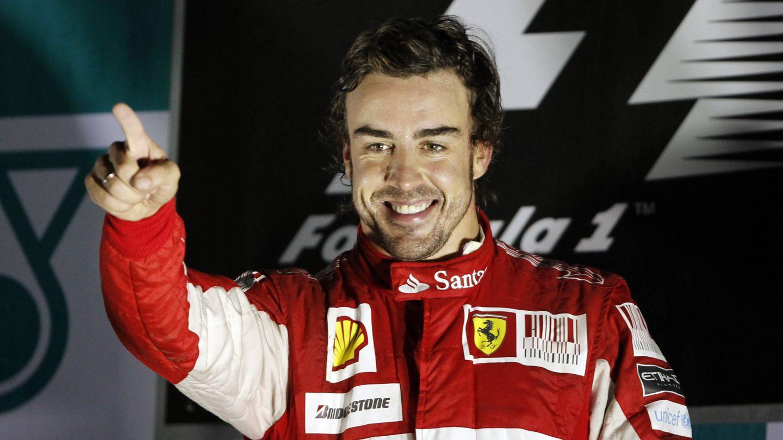 Fernando Alonso no logró títulos con Ferrari, pero los perdió en dos ocasiones en la última carrera