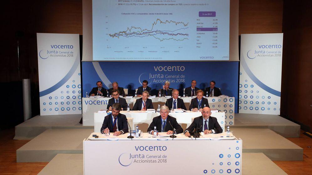 Foto: Junta general de accionistas de Vocento 2018. (Vocento)
