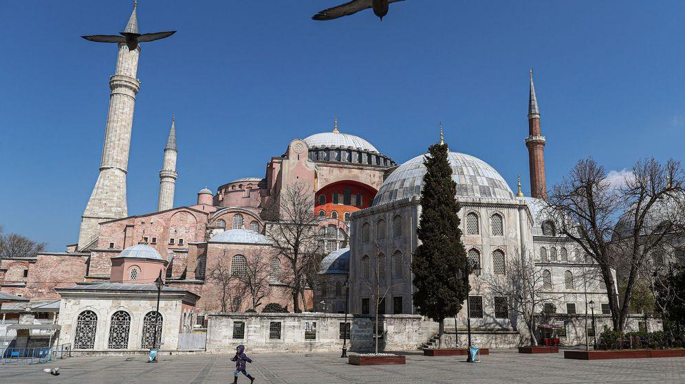 Foto: Hagia Sofia (EFE)