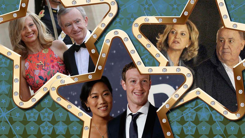 De los Ortega a los Gates: las diez parejas más ricas del mundo