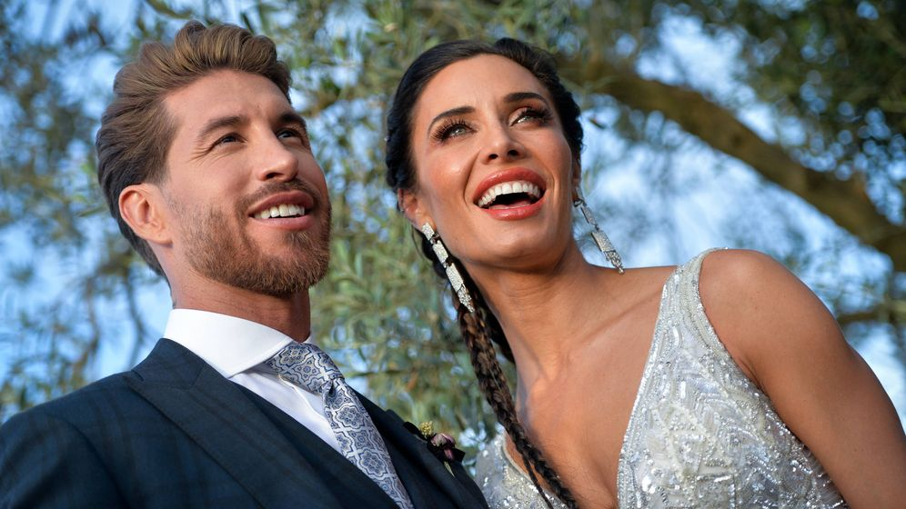 Foto:  Sergio y Pilar, el día de su boda en Sevilla. (Getty)