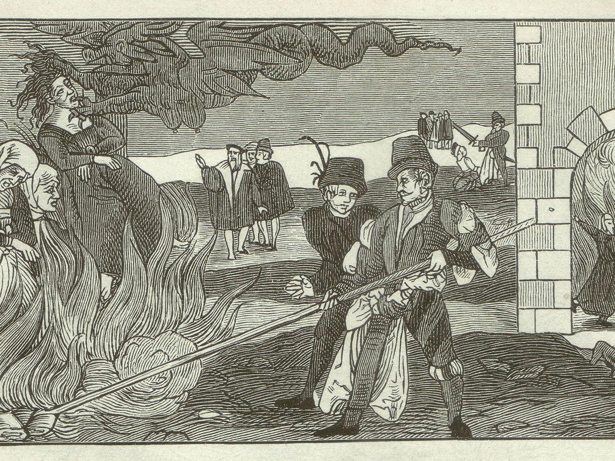 Foto: Quema de Brujas en Alemania en 1555. (iStock)