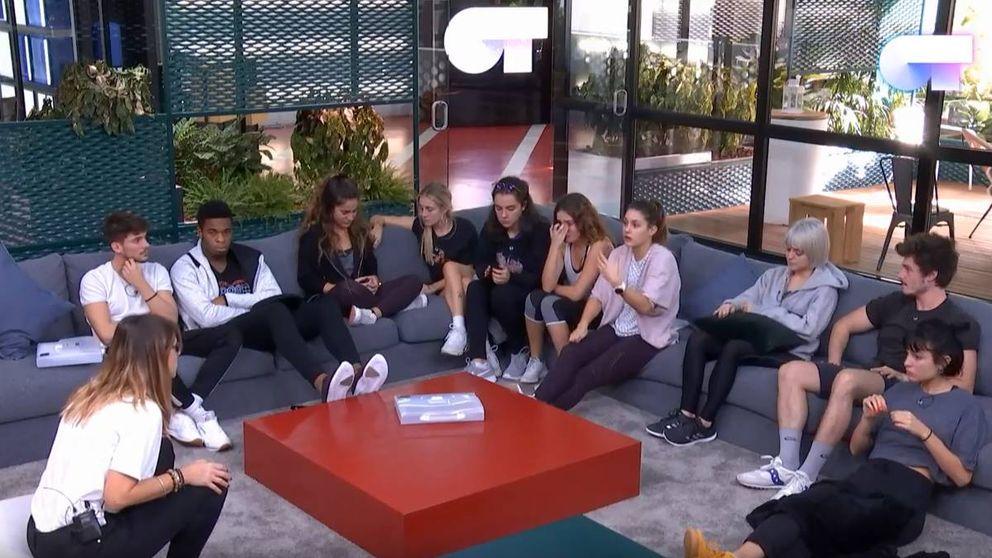 Bronca de Noemí Galera a los concursantes de 'OT 2018' tras el cierre de la habitación
