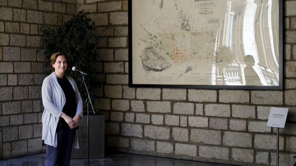 Foto: Ada Colau, en sus oficinas de Barcelona. (Reuters)