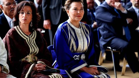 El día que Lalla Hasna, hermana del rey de Marruecos, se vistió de Letizia