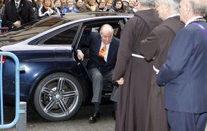 Foto: El Rey visita al Cristo de Medinaceli