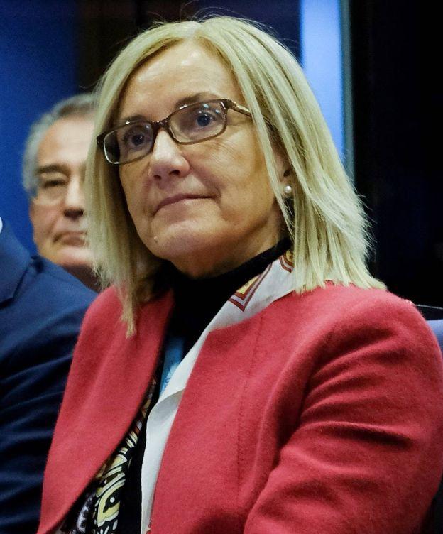 Foto: Clara Martínez Alberola, mano derecha de Juncker. (EFE)