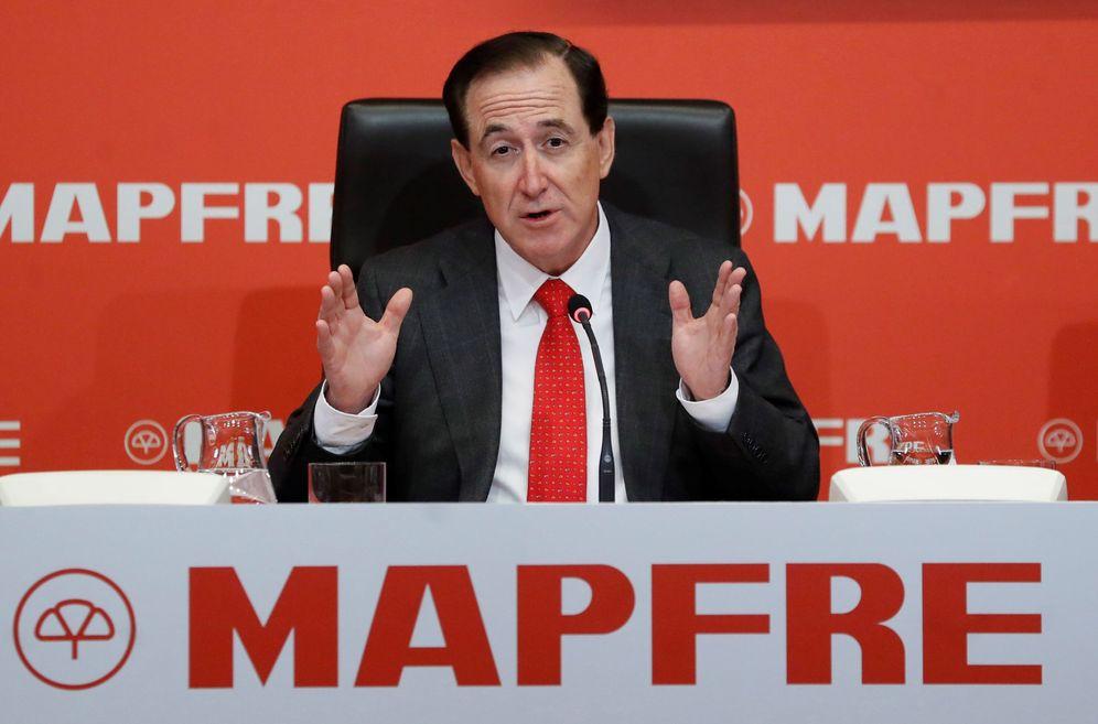Foto: El presidente de Mapfre, Antonio Huertas