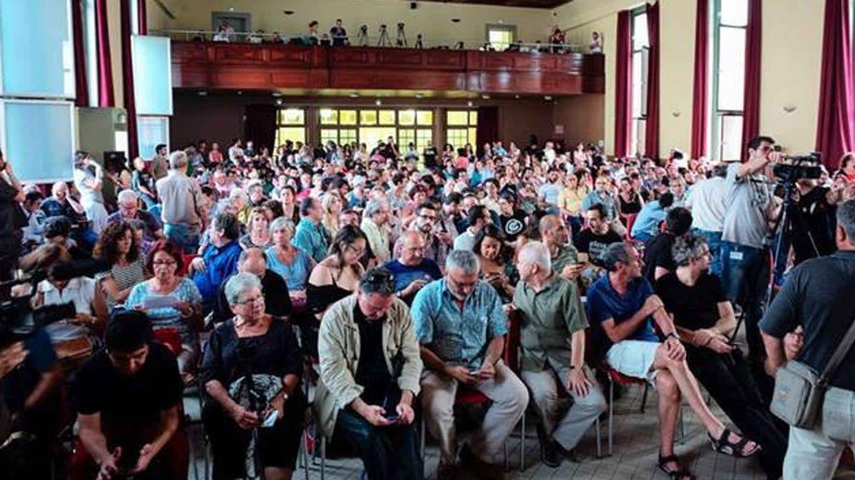 Público asistente a la presentación pública de Guanyem Barcelona. (Facebook/Guanyem)