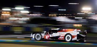 Post de La lluvia hace un favor al Toyota de Alonso que saldrá desde la pole en Le Mans