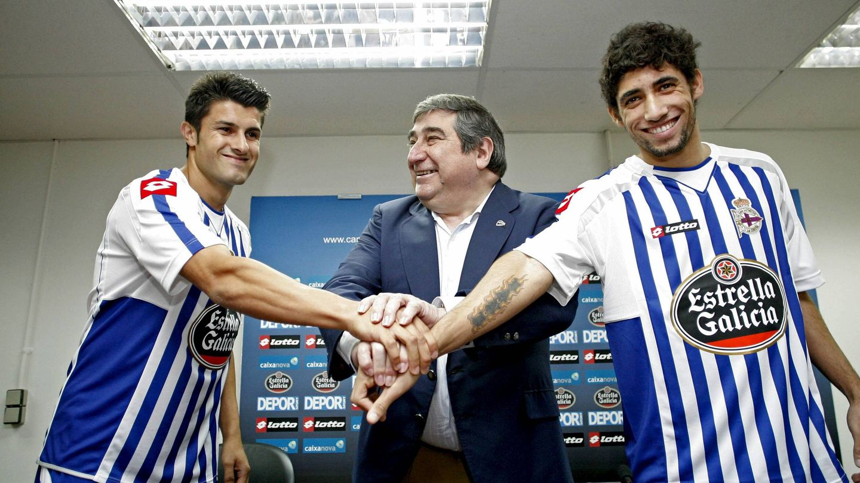 Durante 25 años, Lendoiro ejerció como presidente del Deportivo de La Coruña. (EFE)