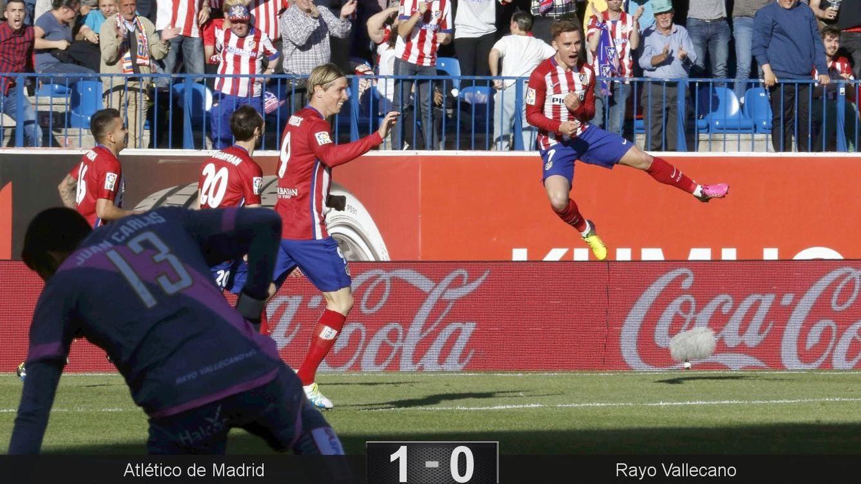 Foto: Griezmann marcó nada más entrar al campo (Kiko Huesca/EFE)