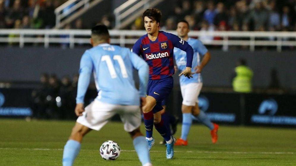 Foto: Riqui Puig, durante el partido contra el Ibiza. (FCBarcelona)