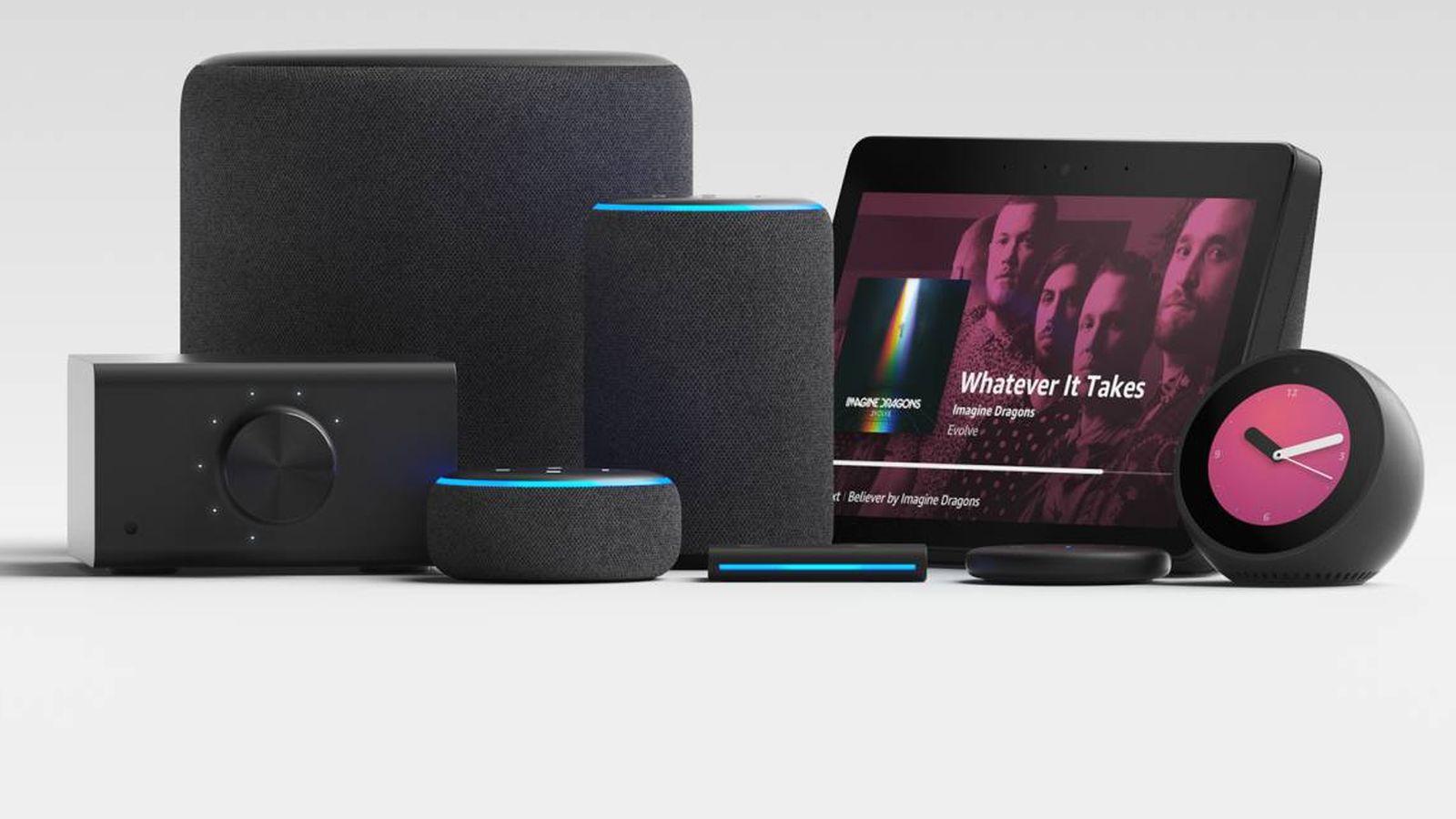 Foto: Nuevos dispositivos de Amazon (Foto: Amazon)