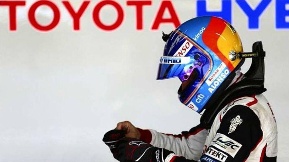 Foto: Fernando Alonso cierra otro capítulo en su carrera. (@Alo_ofi)