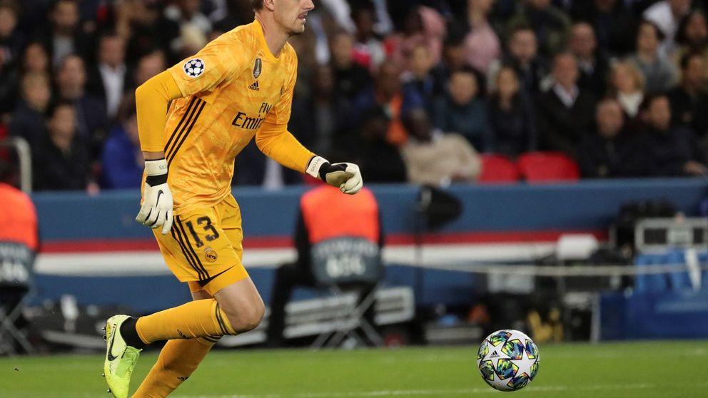 Los motivos para señalar en el Real Madrid a Thibaut Courtois