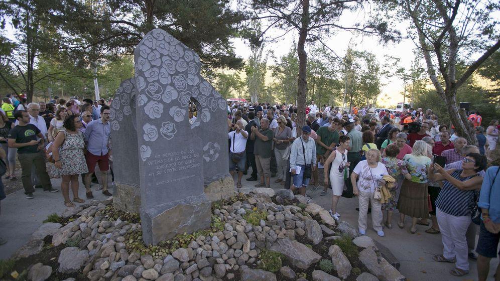 Foto: El pasado 7 de agosto se cumplieron 20 años de la tragedia de Biescas, que acabó con la vida de 87 personas que pasaban unos días en el 'camping' Las Nieves, inundado por las lluvias torrenciales. (EFE)