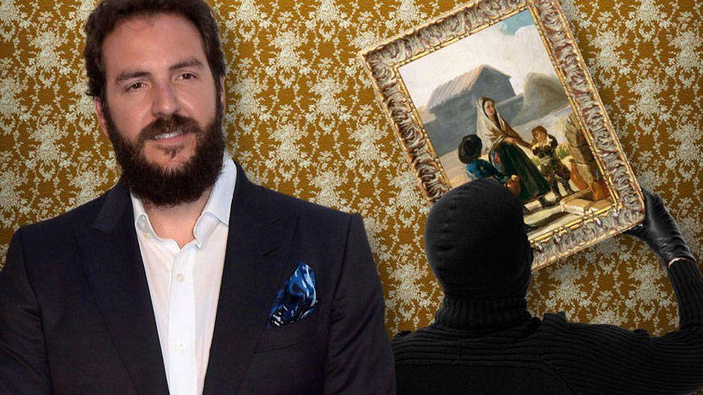 Las razones por las que Borja Thyssen retiró 'in extremis' su Goya de subasta